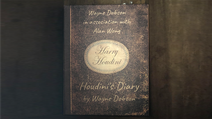 Houdinis Diary (Gimmick and Online Instructions) by Wayne Dobson and Alan Wong Trick