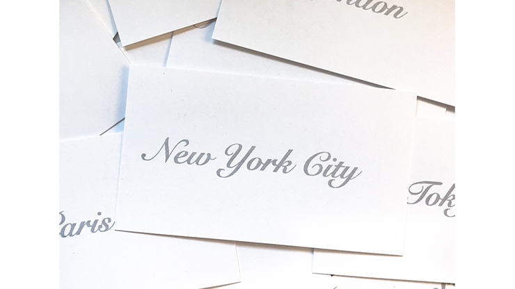 Appearing Business Cards (City Pack) by