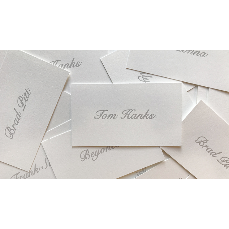 Appearing Business Cards (Celebrity Pack