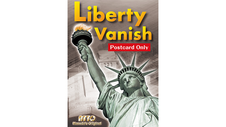 Liberty Vanish (Postcard Only) by Masuda Trick