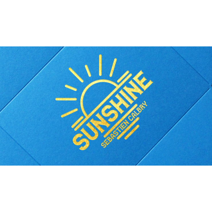 SUNSHINE (Gimmick and Online Instructions) by Sebastien Calbry Trick