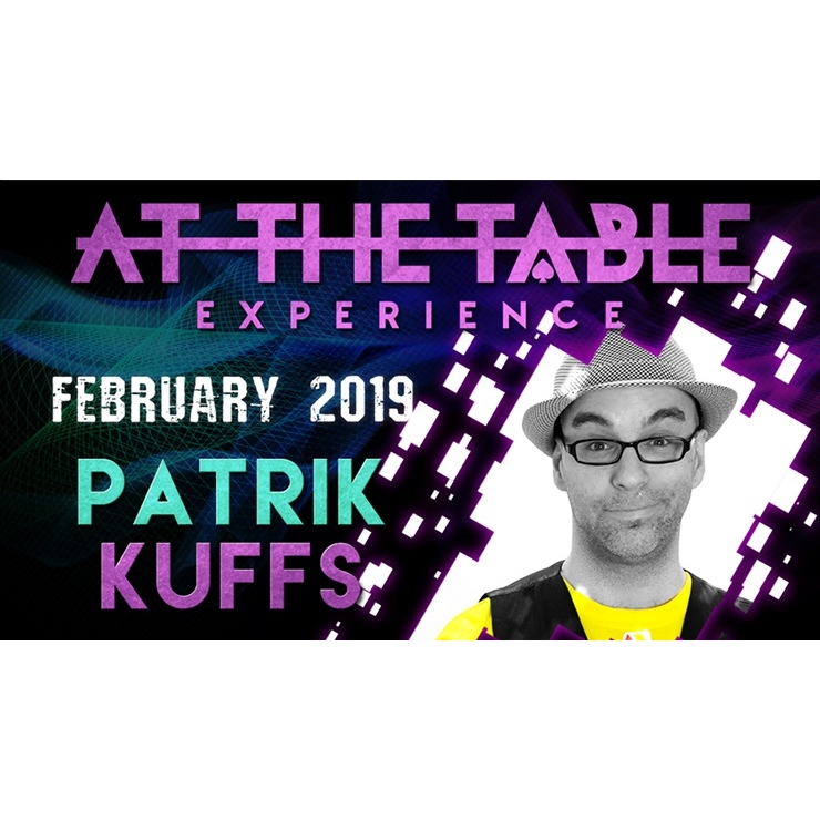 At The Table Live Lecture Patrik Kuffs F