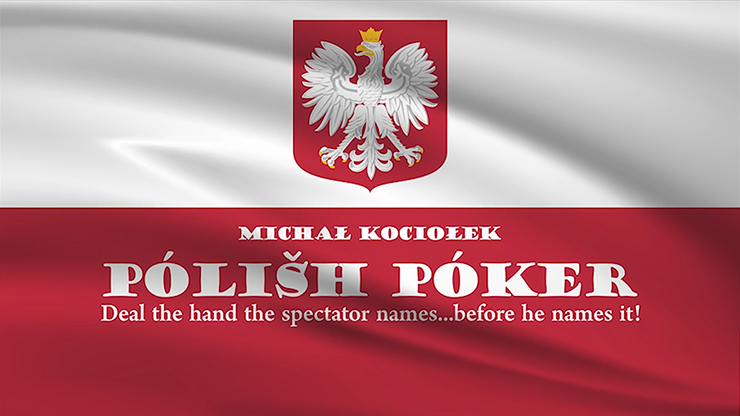 Polish Poker (Gimmicks and Online Instructions) by Michal Kociolek Trick