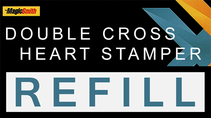 Heart Stamper Part for Double Cross (Refill) by Magic Smith Trick