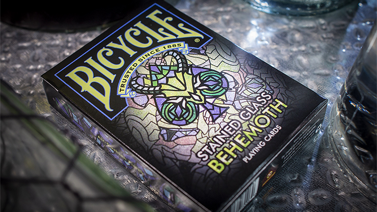 Bicycle Stained Glass Behemoth Playing C