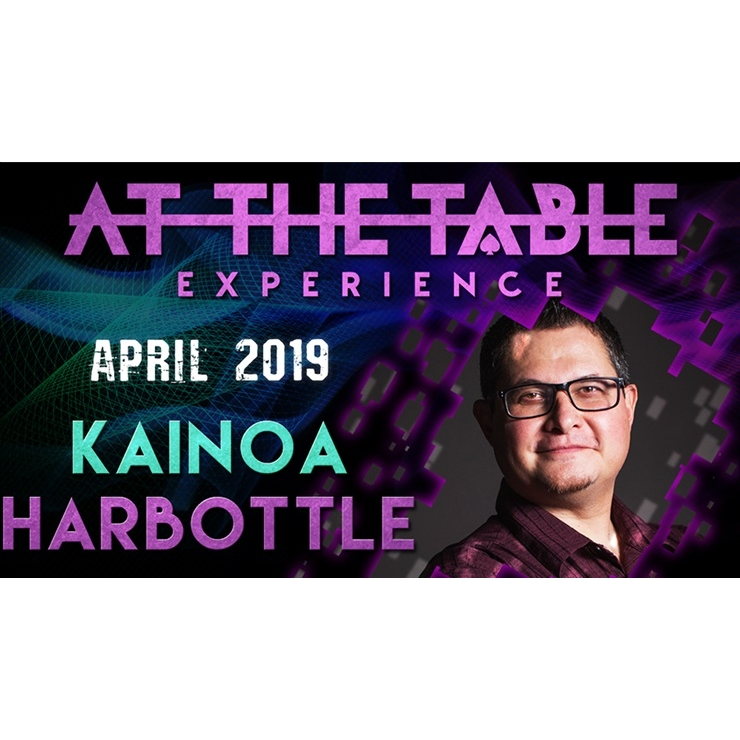 At The Table Live Lecture Kainoa Harbott