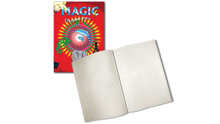 Magic Coloring Book (Blank pages) by Vin
