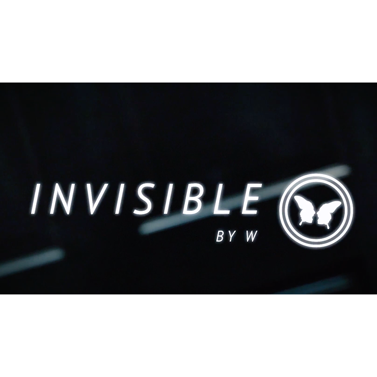 Invisible (DVD and Gimmicks) by W DVD