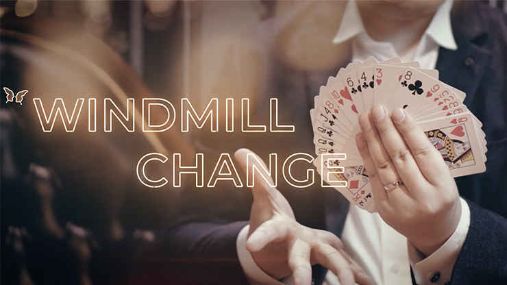 Windmill Change (DVD and Prop) by Jin DVD