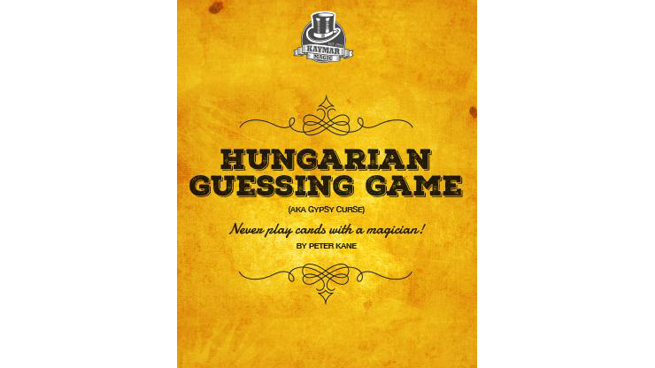 Hungarian Guessing Game AKA Gypsy Curse (Gimmicks and Online Instructions) by Kaymar Magic Trick