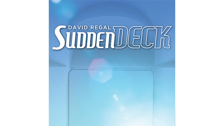 Sudden Deck 3.0 (Gimmick and Online Instructions) by David Regal Trick