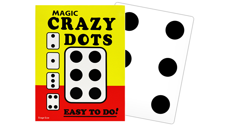 CRAZY DOTS (Stage Size) by Murphys Magic Supplies Trick