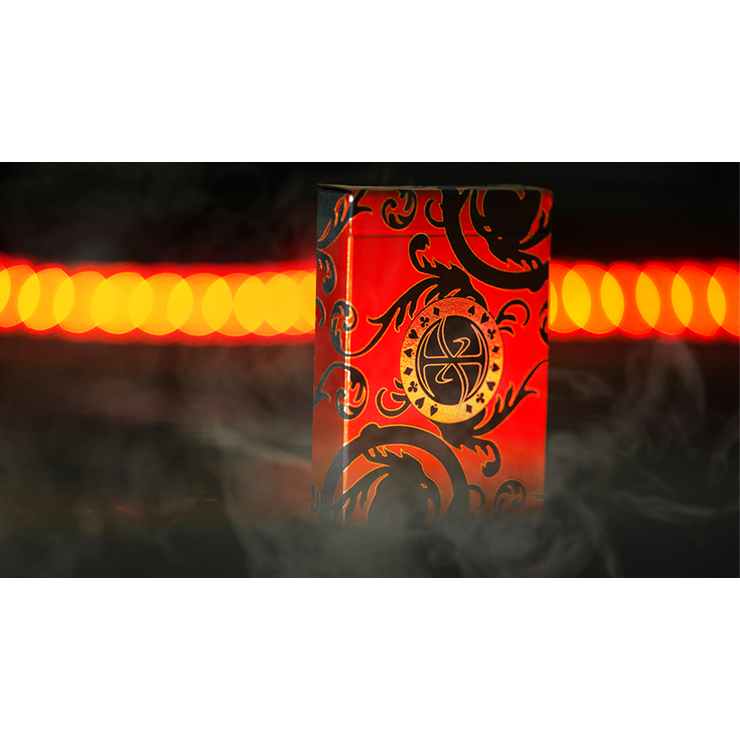 Pro XCM Demon (Foil) Playing Cards by De