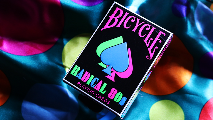 Bicycle Radical 80s by US Playing Cards