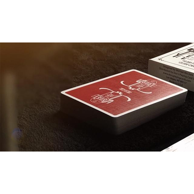 Juice Joint (Red) Playing Cards by Micha