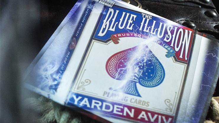 Blue Illusion (Gimmick and Online Instructions) by Yarden Aviv and Mark Mason Trick