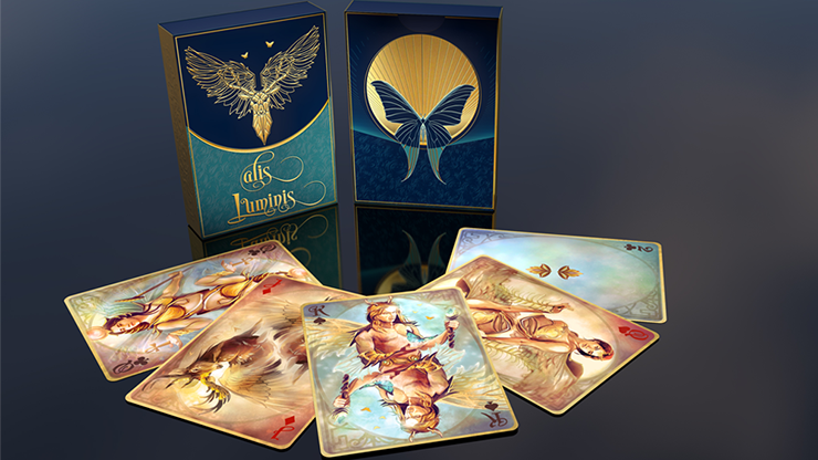Alis Luminis The Winged Playing Cards De