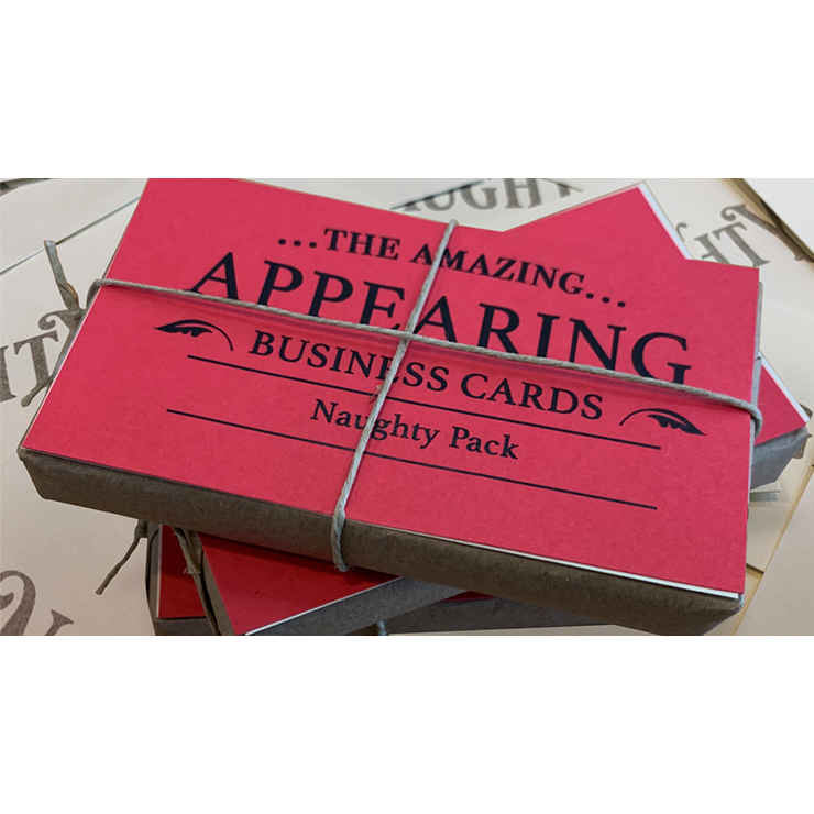 Appearing Business Cards (Naughty Pack)