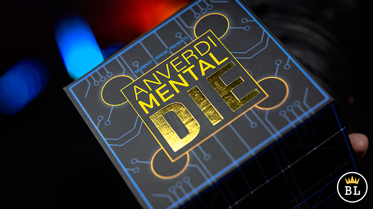 MENTAL DIE BLACK (With Online Instruction) by Tony Anverdi Trick