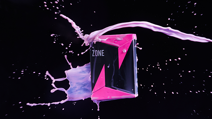 ZONE (Pink) Playing Cards by Bocopo