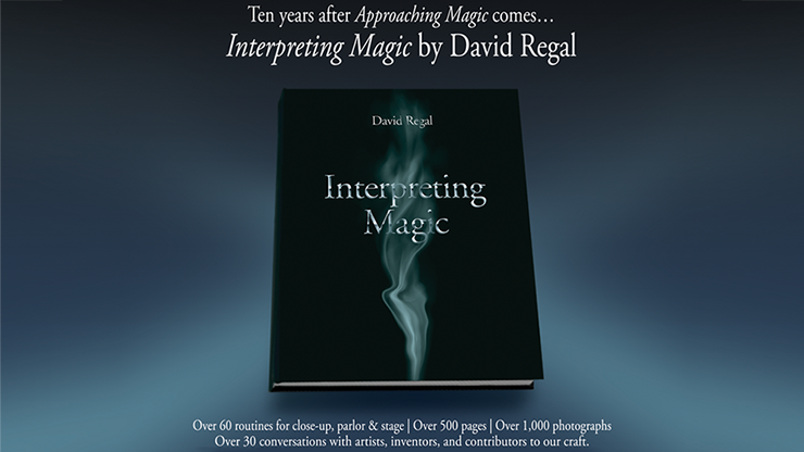 Interpreting Magic by David Regal Book