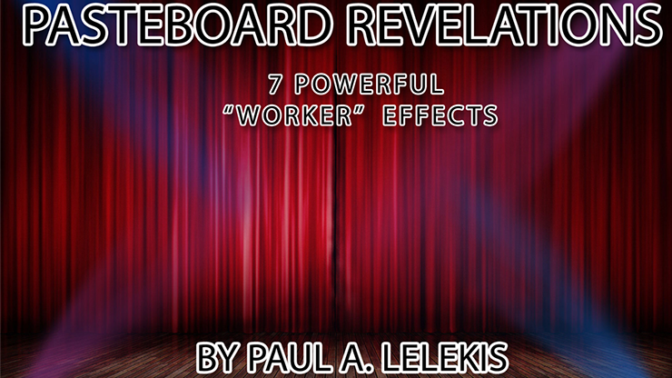 PASTEBOARD REVELATIONS by Paul A. Leleki