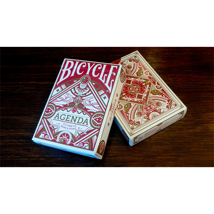 Agenda Red Basic Edition Playing Cards