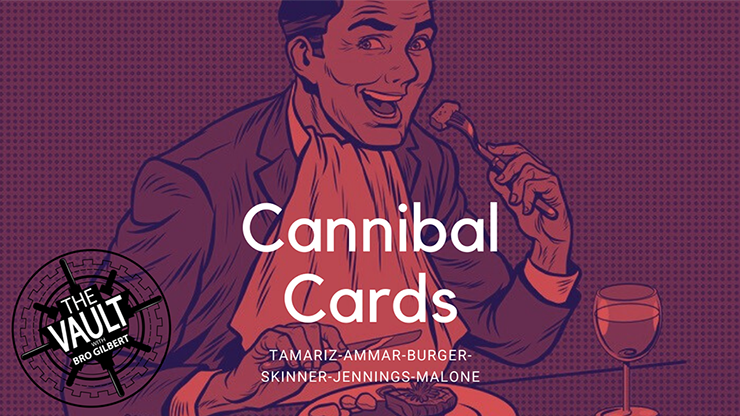 The Vault Cannibal Cards (Worlds Greates