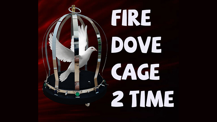 FIRE CAGE (2 Time) by 7 MAGIC Trick