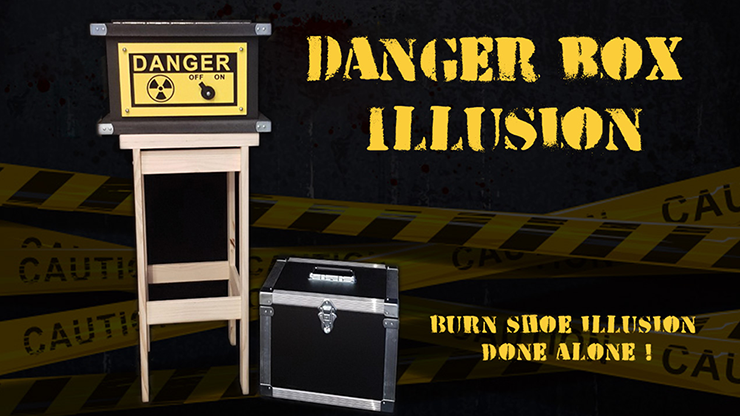 DANGER BOX ILLUSION (Full Set) by Magie