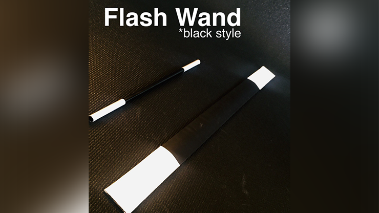 FLASH WAND (BLACK) by Victor Voitko (Gim