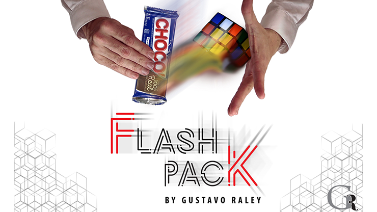 FLASH PACK (Gimmicks and Online Instructions) by Gustavo Raley Trick