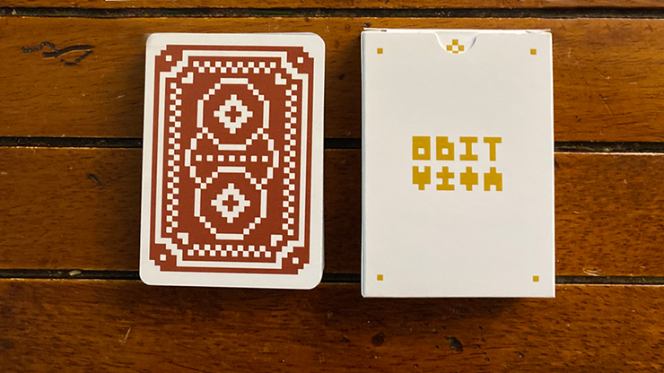 8 Bit Red Playing Cards