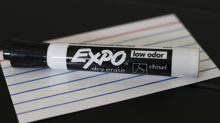 Acro Index Dry Erase (Gimmicks and Onlin