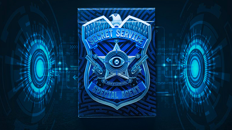 Secret Service Playing Cards by Riffle S