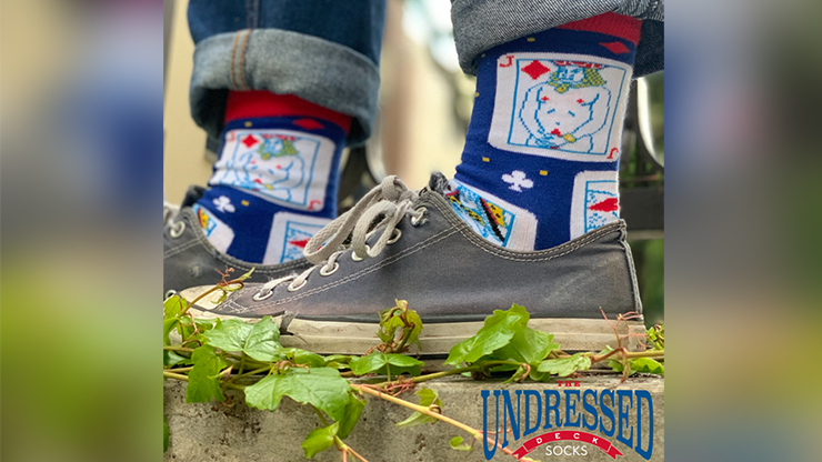 The Undressed Deck SOCKS by Edi Rudo