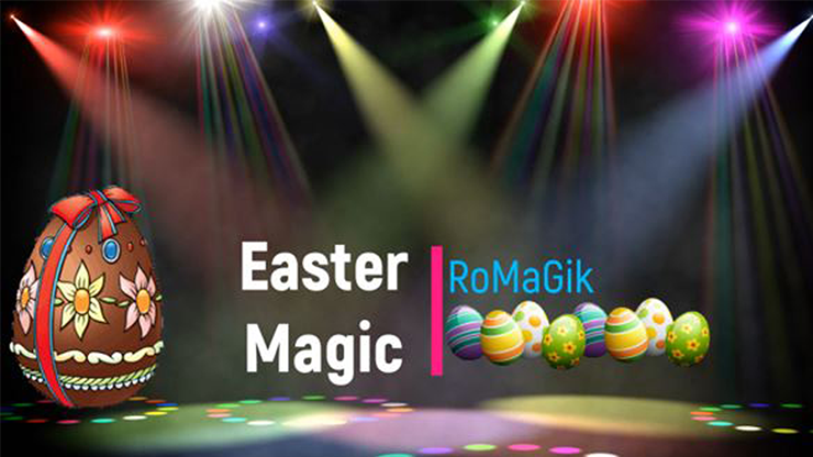 Easter Magic by RoMaGik Mixed Media DOWN