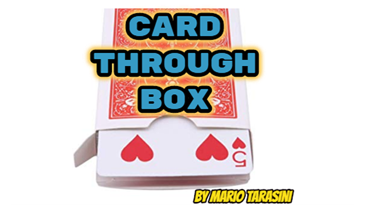 Card Through Box by Mario Tarasini video