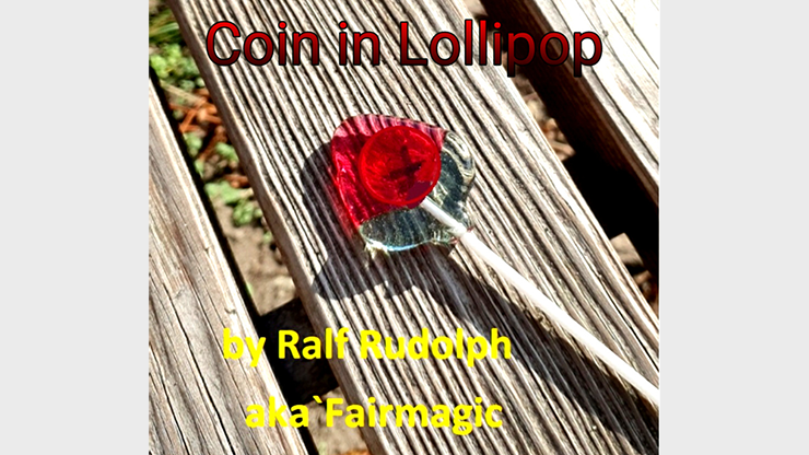Coin in Lollipop by Ralf Rudolph aka Fai