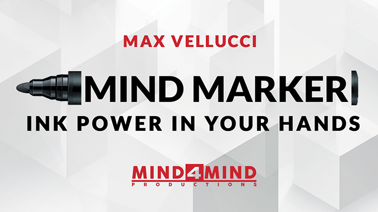 MIND MARKER by Max Vellucci Trick