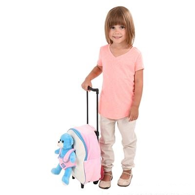 Childs Travel Bag with Bear