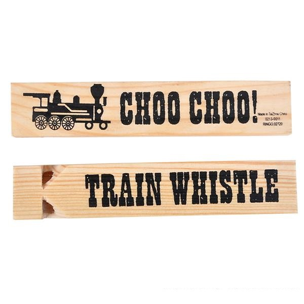 Train Whistle Wood