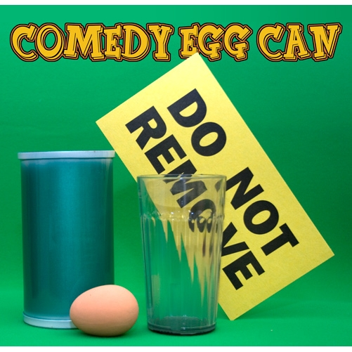 Comedy Egg Can by Mak