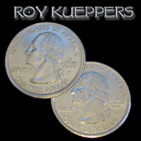 Two Headed Quarter by Kueppers