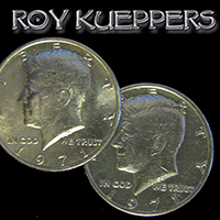Two Headed Half Dollar by Kueppers