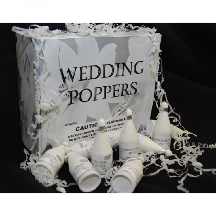 Wedding Poppers