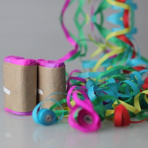 Throw Streamers Multi Color