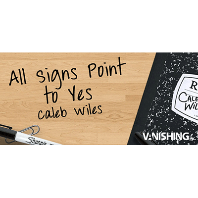 All Signs Point To Yes by Caleb Wiles an