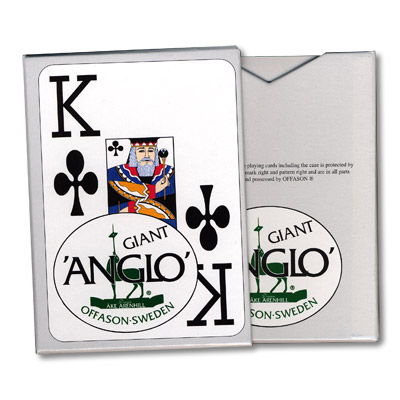Anglo Deck (Blue) by El Duco Trick