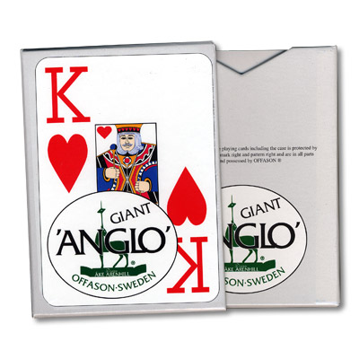 Anglo Deck (Red) by El Duco Trick